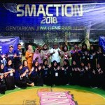 Pembukaan LKBB SMACTION di SMA Negeri 6 Kota Bogor pd hr Sabtu tgl 20 Oktober 2018.