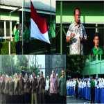 Kegiatan Upacara di SMA Negeri 6 Kota Bogor